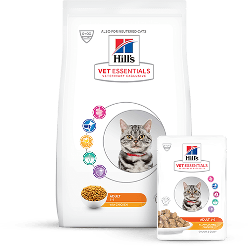 Hill's Vet Essentials Alimentos para Gatos Adultos